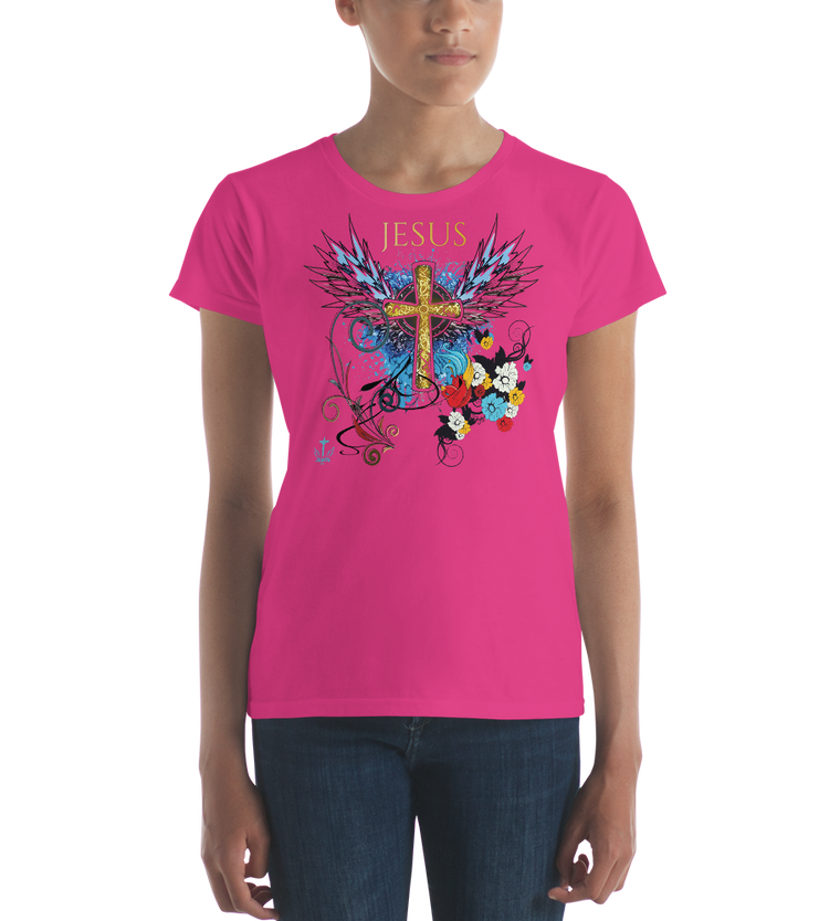Jesus Cross (CLASSIC FIT) - in 15 colors
