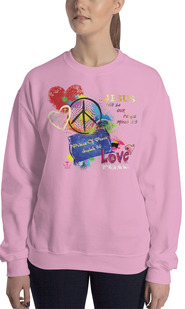 Peace (CREWNECK) - in 8 colors