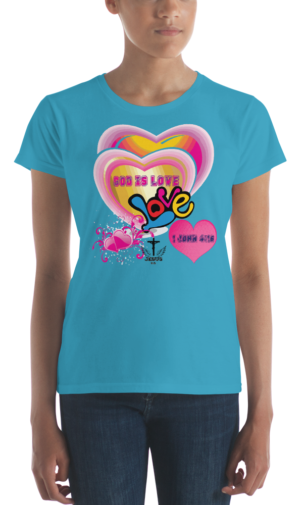God Is Love (CLASSIC FIT) - in 9 colors