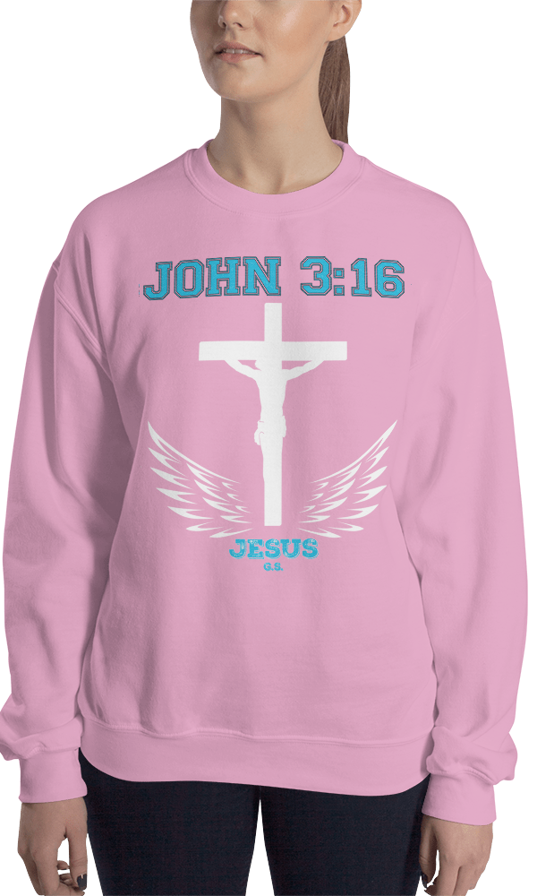 John 3:16 (CREWNECK) - in 7 colors
