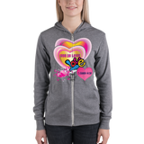 God Is Love (ZIP-UP HOODIE) - in 3 colors