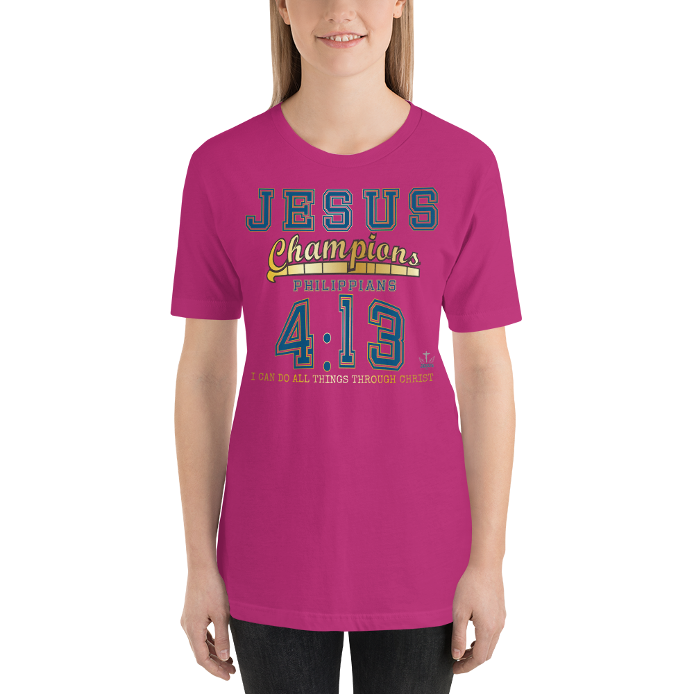 Philippians 4:13 (JERSEY) - in 14 colors – Jesus Gift Store