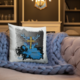 Angels Guard Pillow - 18x18