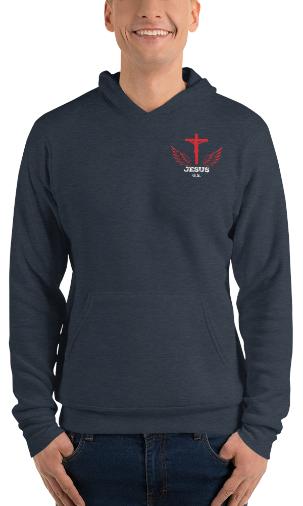 Jesus (FLEECE HOODIE) - in 4 colors