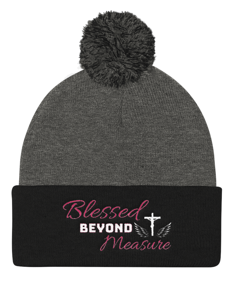 Blessed Knit Cap (Grey / Black)