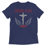 John 3:16 (TRIBLEND) - in 7 colors