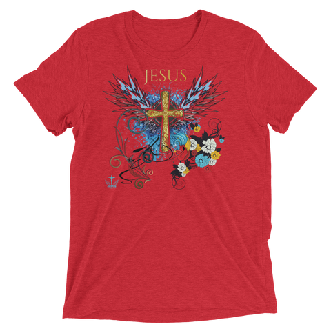Jesus Cross (TRIBLEND) - in 12 colors