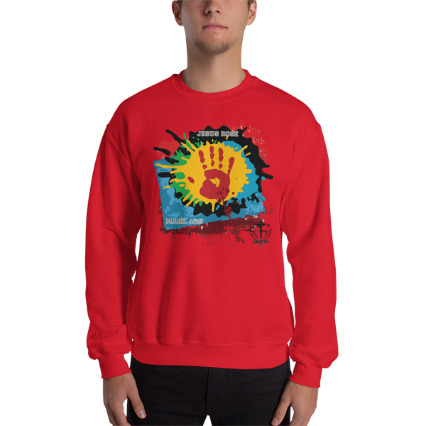 Jesus Rose (CREWNECK) - in 6 colors