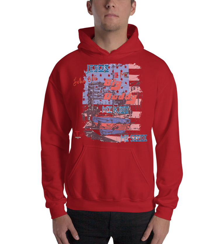 Big Daddy (HOODED SWEATSHIRT) - in 7 colors