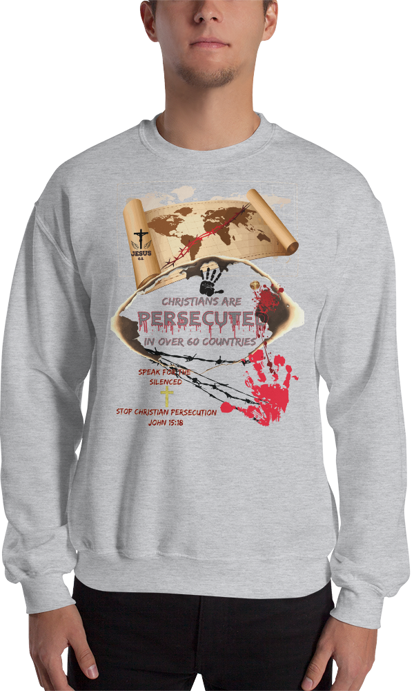 Persecuted (CREWNECK) - in 3 colors