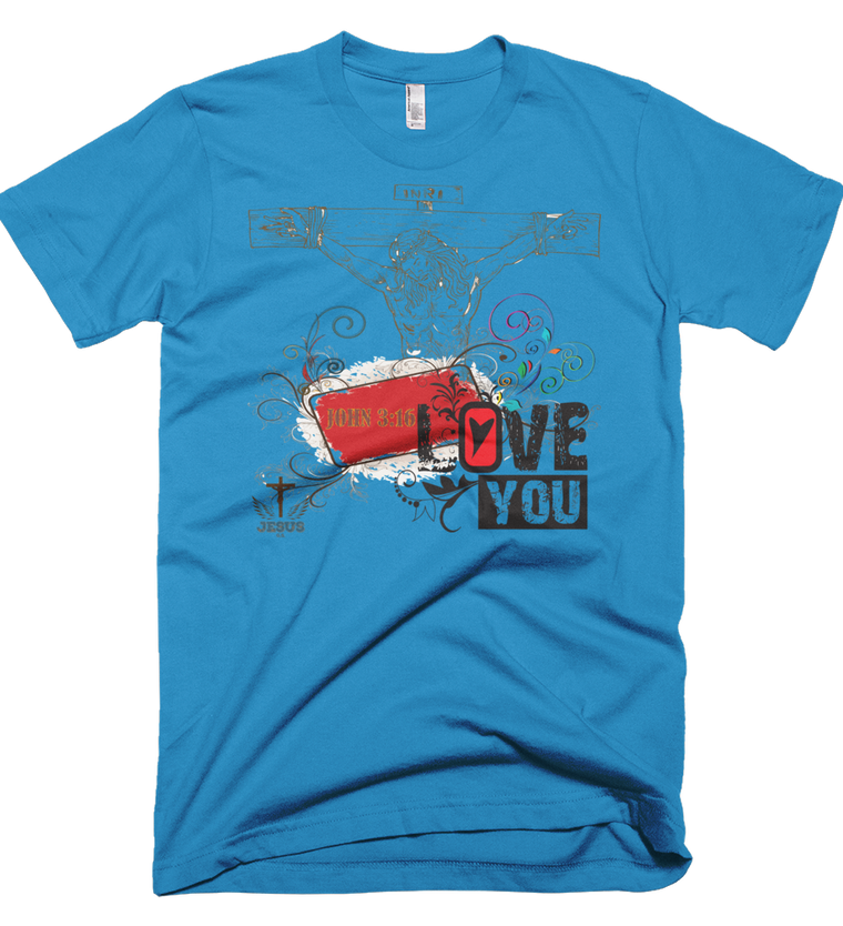 Jesus Loves You (Made in the U.S.A.) - in 6 colors