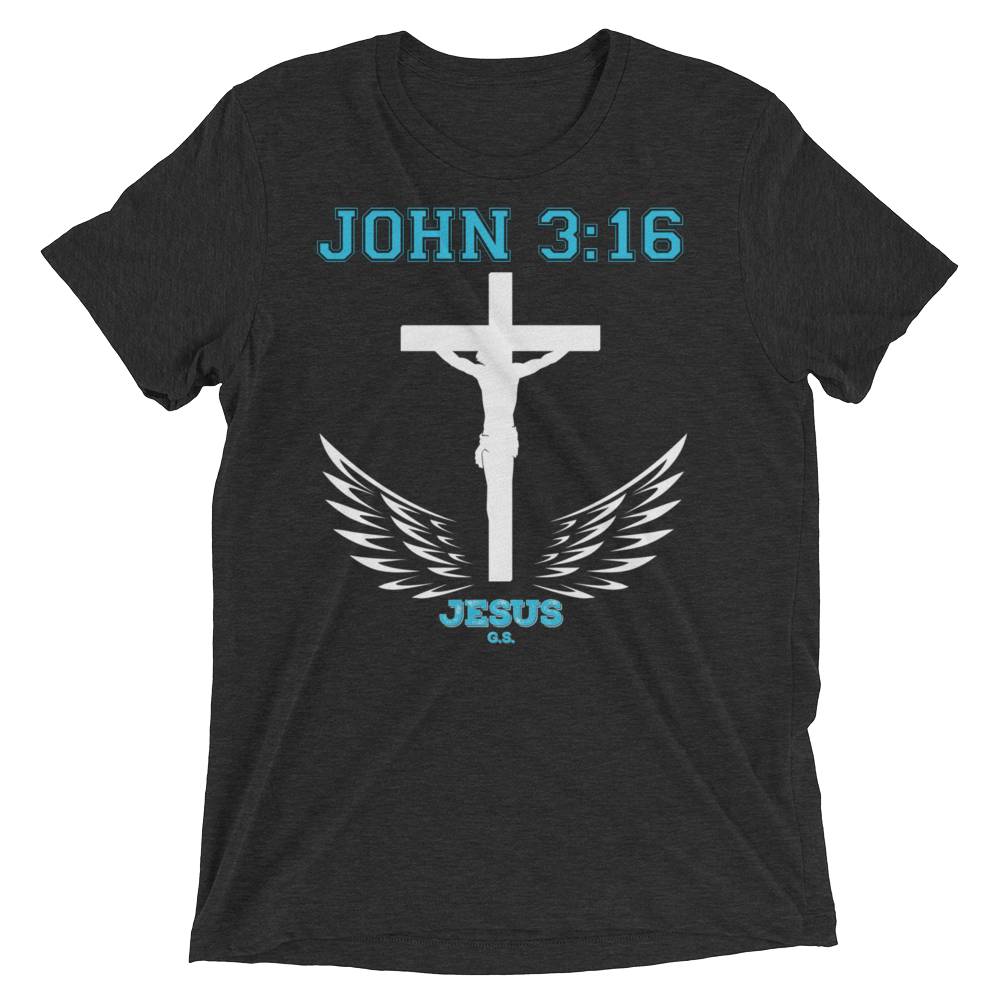 John 3:16 (TRIBLEND) - in 9 colors