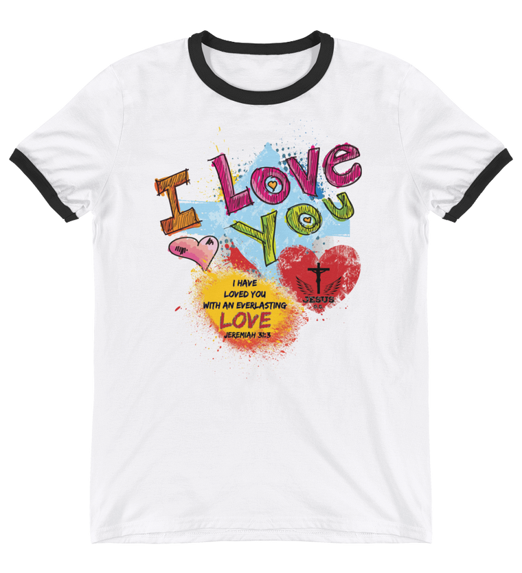 Love You- in 4 colors - Jesus Gift Store