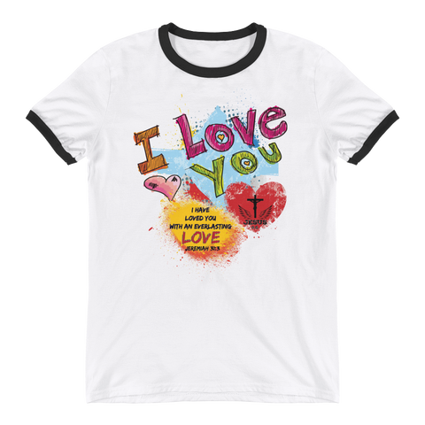 Love You- in 4 colors