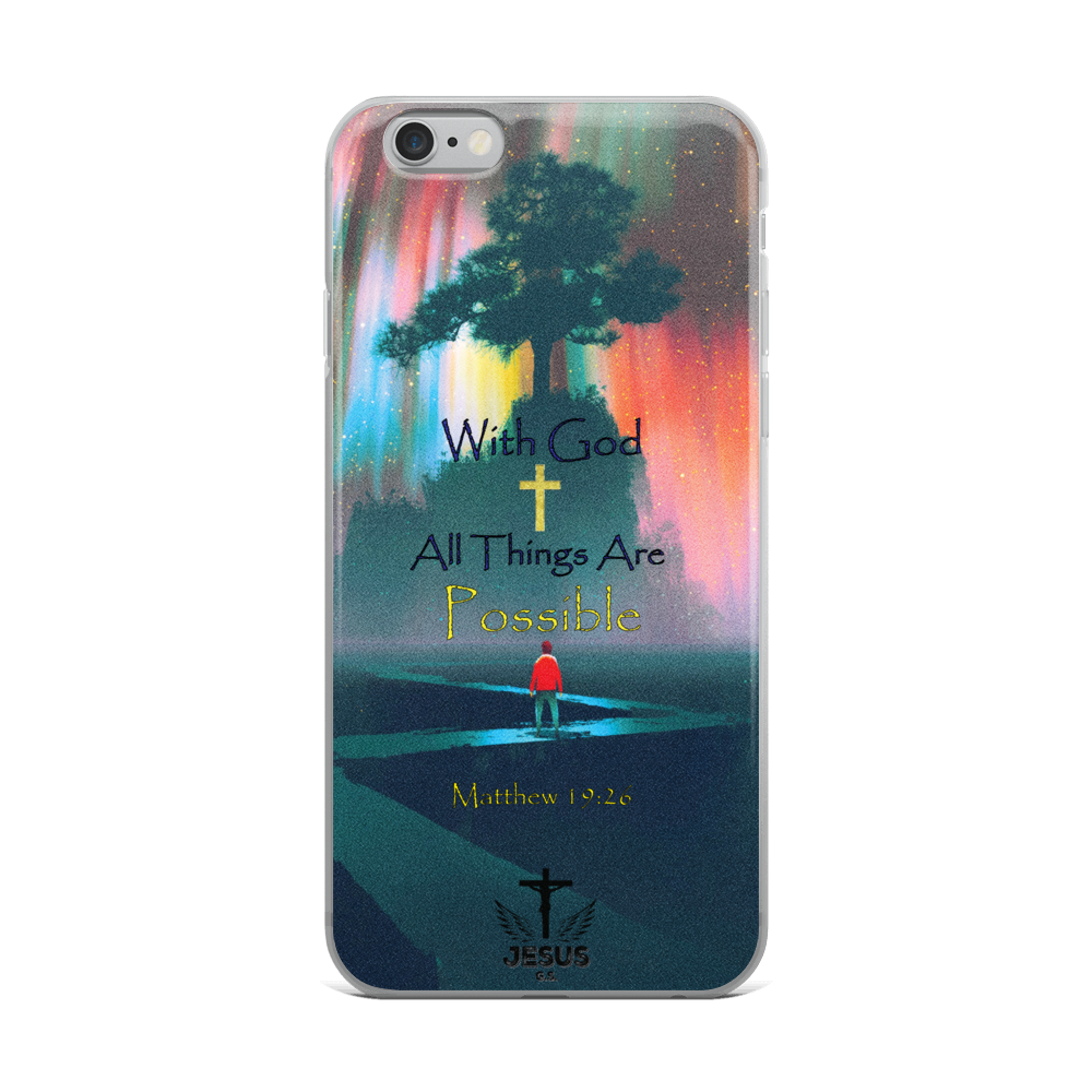 All Things - 8 Plus, iPhone7/8, iPhone X - Jesus Gift Store
