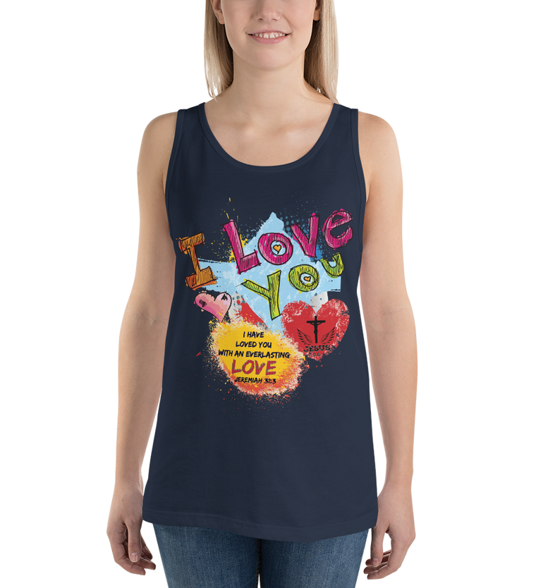 Love You (TANK) - in 10 colors
