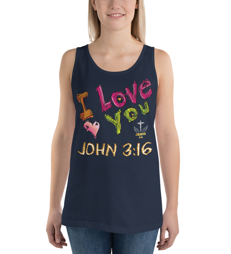 I Love You (TANK) - in 10 colors