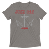 John 3:16 (TRIBLEND) - in 8 colors