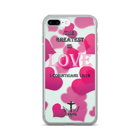 Greatest LOVE - iPhone 7/7 Plus Case - Jesus Gift Store