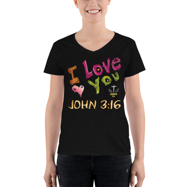 I Love You (V-NECK) - in 2 colors