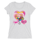 God Is Love (WOMEN'S FITTED) - 9 colors