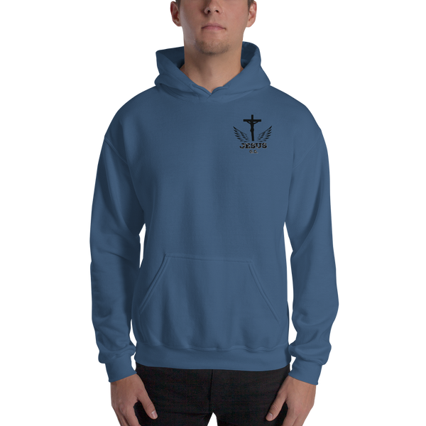 Jesus (HOODED SWEATSHIRT) - in 6 colors