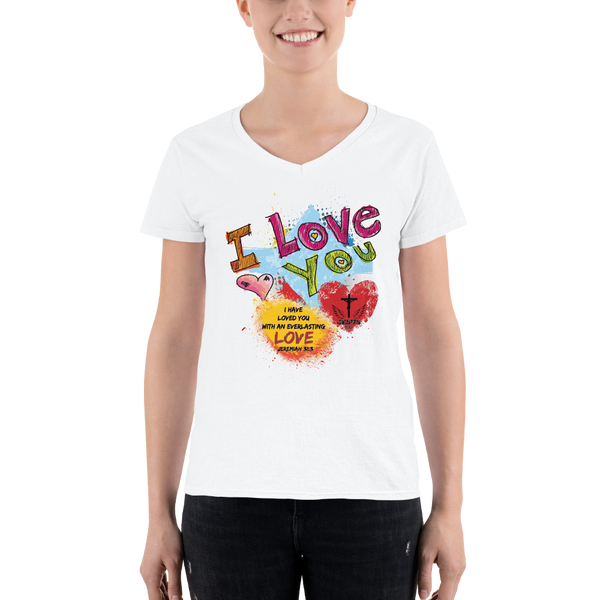 Love You (V-NECK) - in 2 colors
