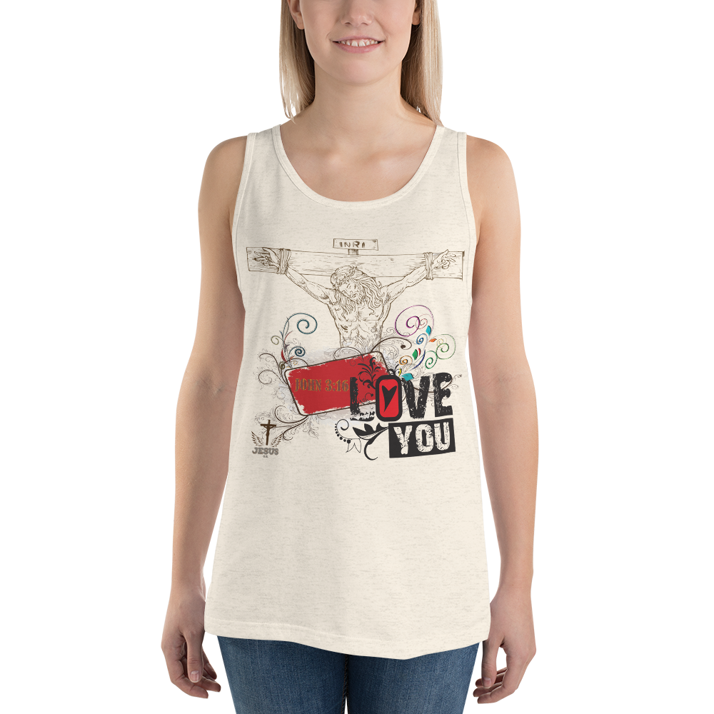 Jesus Loves You (TANK) in 4 colors