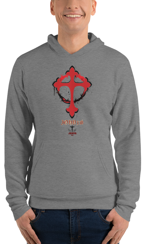 John 3:16 (FLEECE HOODIES) - in 3 colors