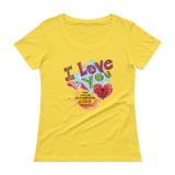 Love You (SCOOPNECK) - in 10 colors