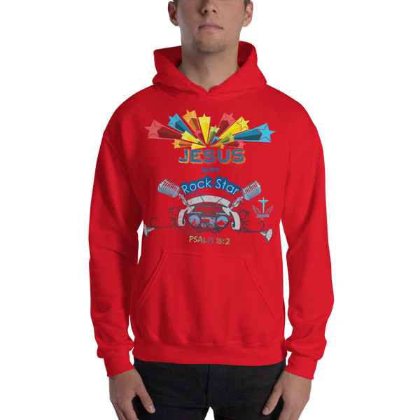 Rock Star (HOODED SWEATSHIRT) - in 5 colors