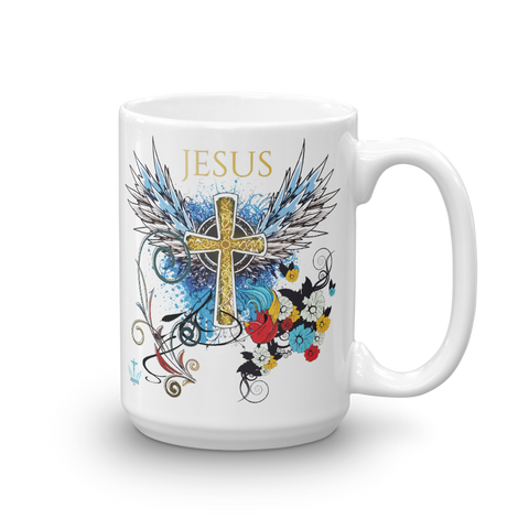 Jesus Cross Mug