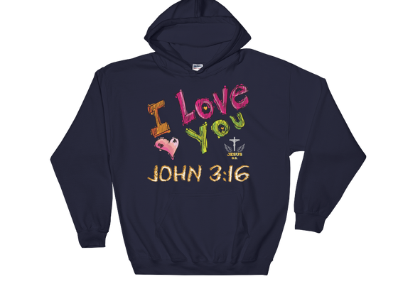 I Love You - in 5 colors - Jesus Gift Store