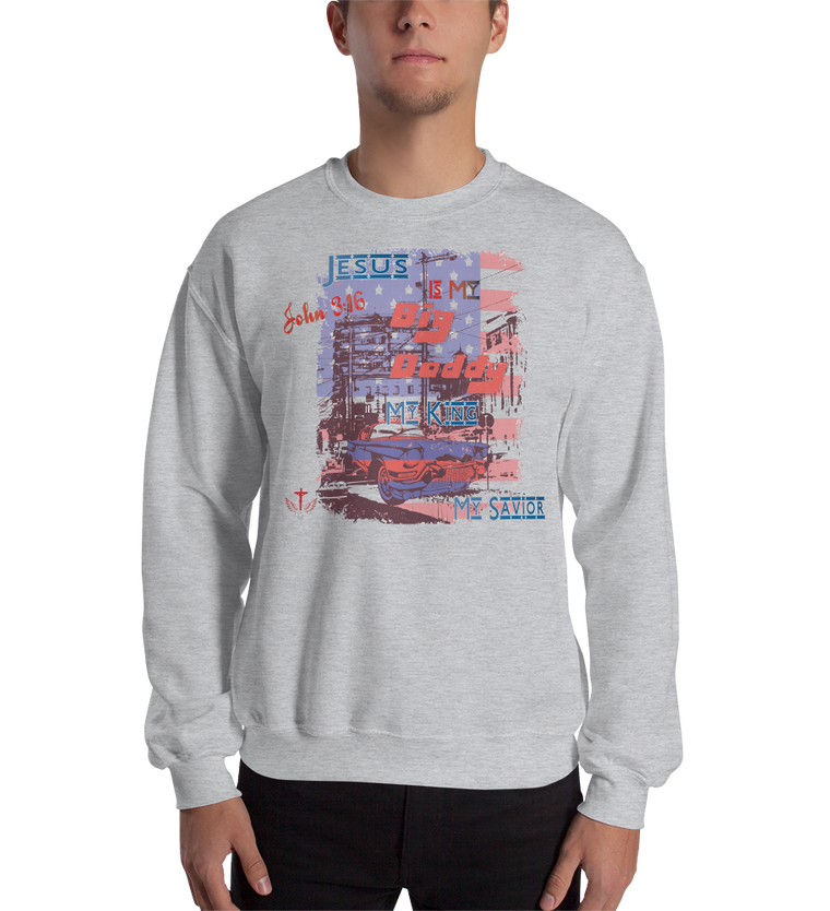 Big Daddy (CREWNECK) - in 6 colors