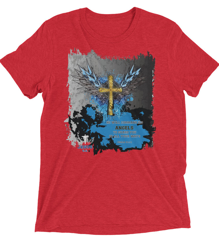Angels Guard (TRIBLEND) - in 11 colors - Jesus Gift Store