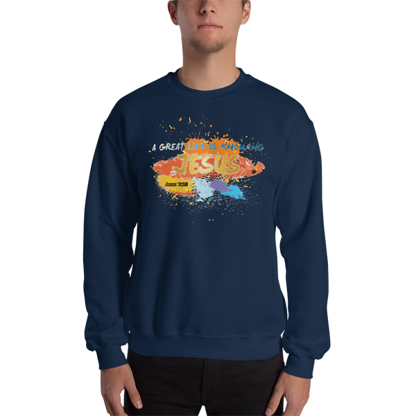 Knowing Jesus (CREWNECK) - in 5 colors