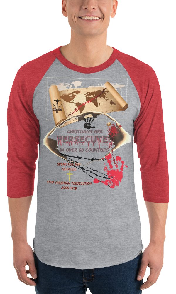 Persecuted (BASEBALL) - in 10 colors