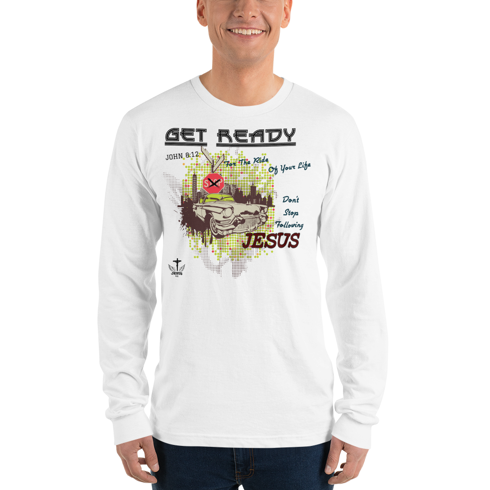 Get Ready (LONG SLEEVE) - in 2 colors