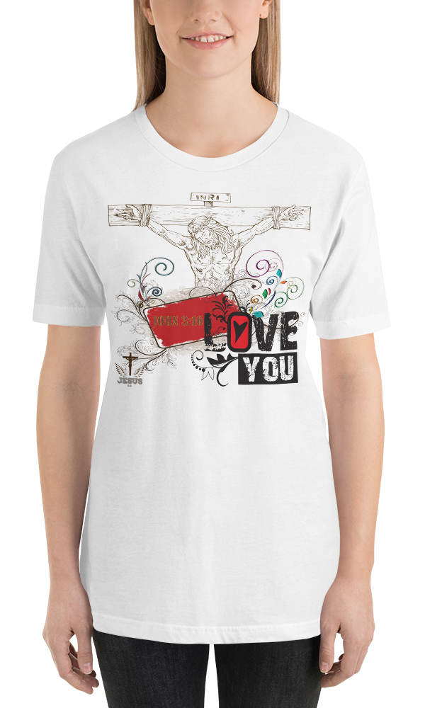 Jesus Loves You (JERSEY) - in 11 colors