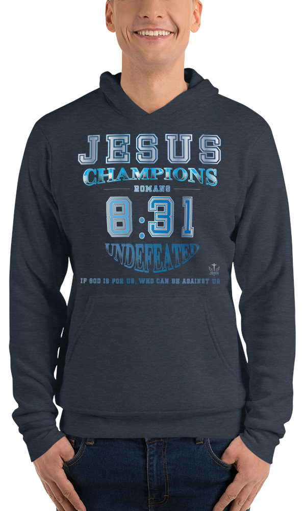 Romans 8:31 (FLEECE) - in 5 colors
