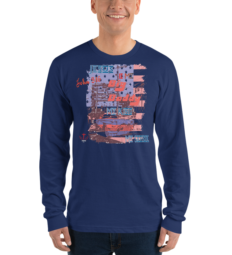 Big Daddy (LONG SLEEVE) - in 4 colors