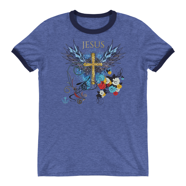 Jesus Cross - in 4 colors