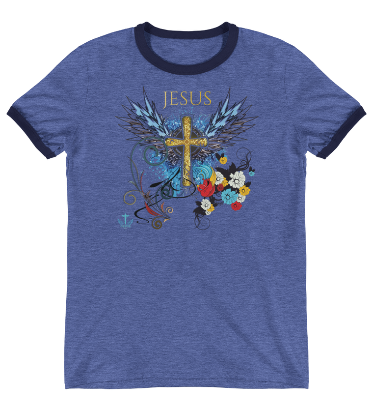Jesus Cross (VINTAGE) - in 4 colors