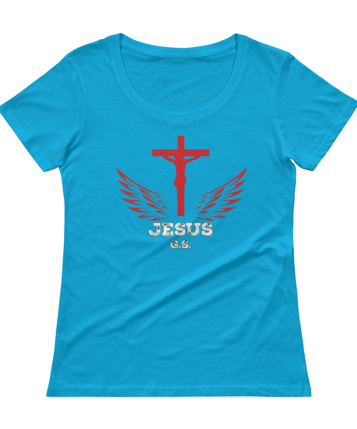 Jesus (SCOOP NECK) - in 4 colors