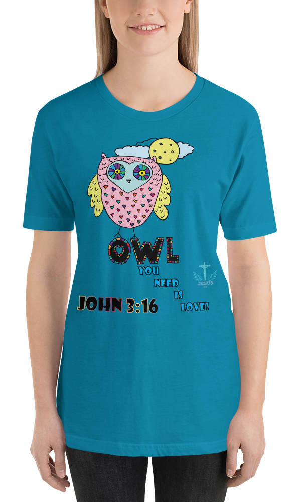 Owl You Need (JERSEY) - in 14 colors