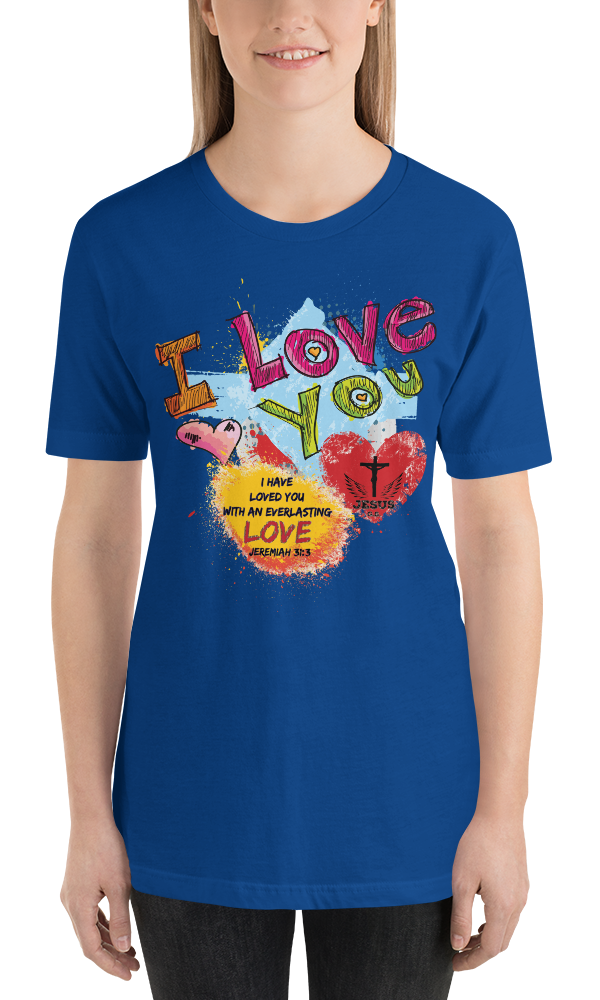 Love You (JERSEY) - in 14 colors
