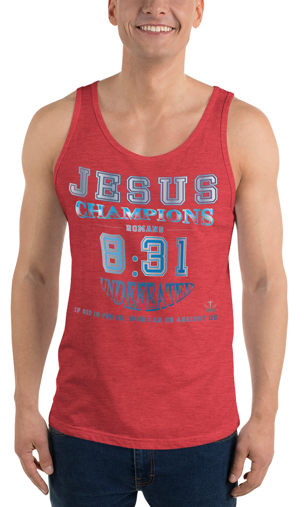 Romans 8:31 (TANK) - in 8 colors