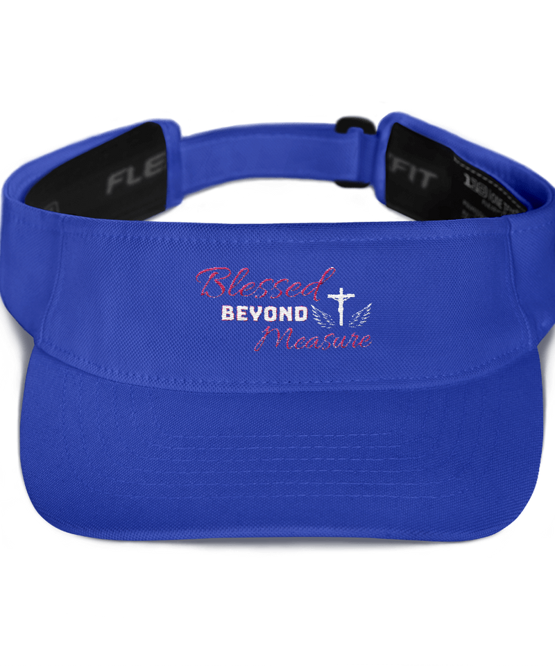 Blessed Visor (Royal Blue)