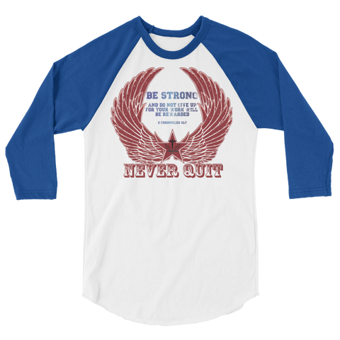Never Quit (BASEBALL) - in 10 colors