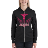 Jesus (ZIP-UP HOODIES) - in 3  colors